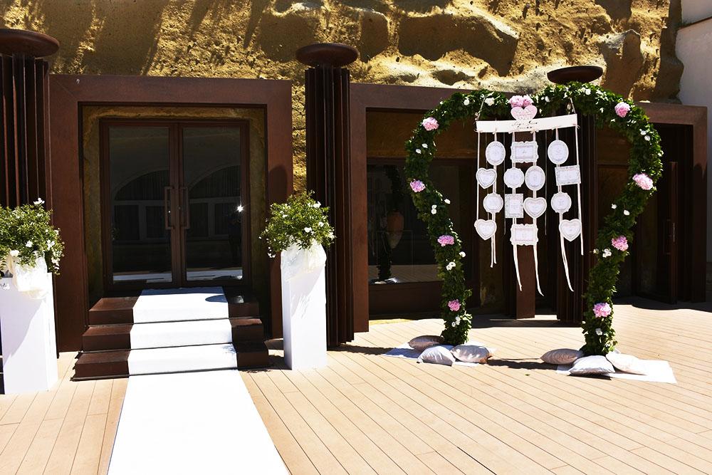 Villa Aragonese wedding